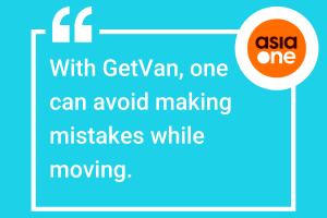 GetVan on AsiaOne
