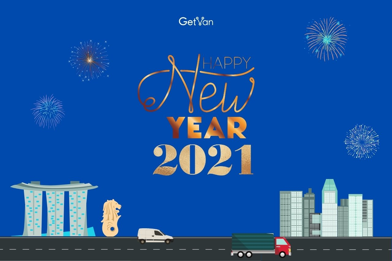 Happy New Year from GetVan